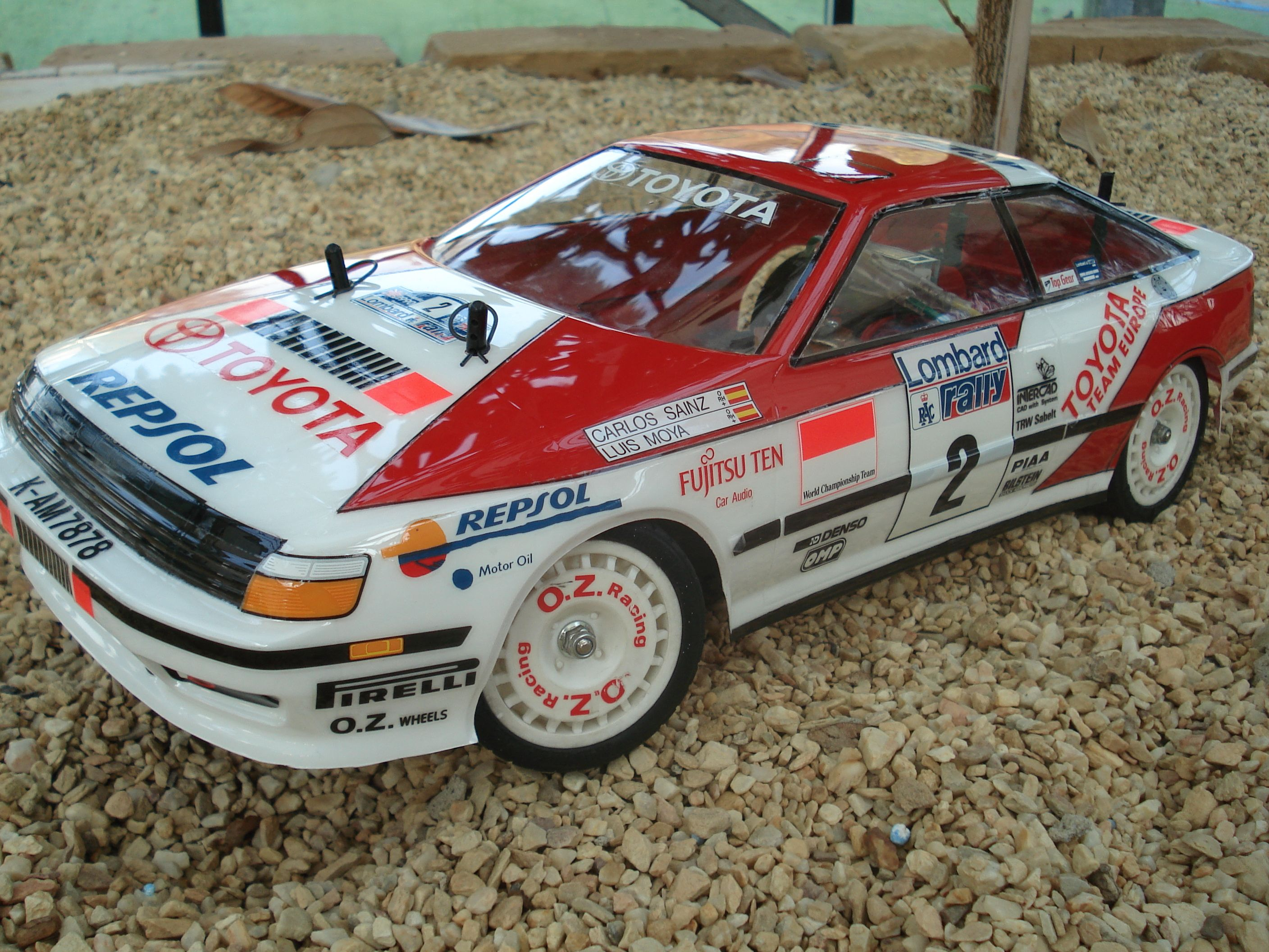 Toyota Celica GT Four Rally Tamiya | Rc touring cars | Pinterest ...
