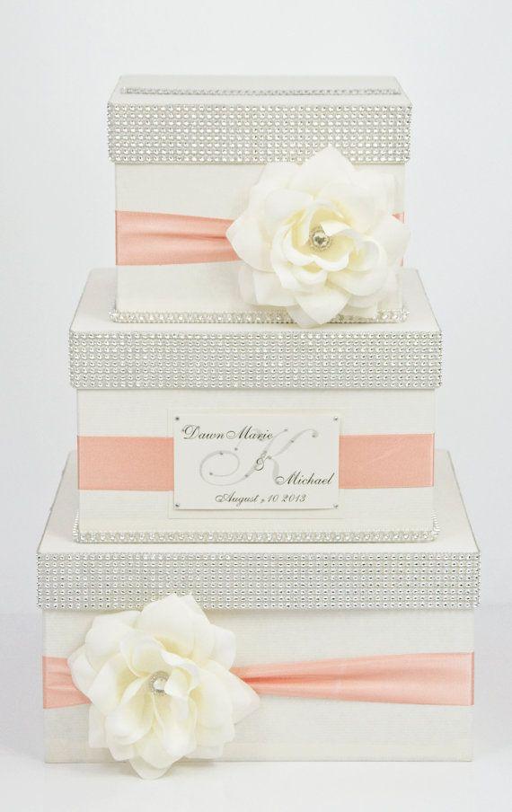 Card Box Wedding Box Wedding Money Box 3 Tier Etsy In 2020 Card Box Wedding Money Box Wedding Wedding Cards
