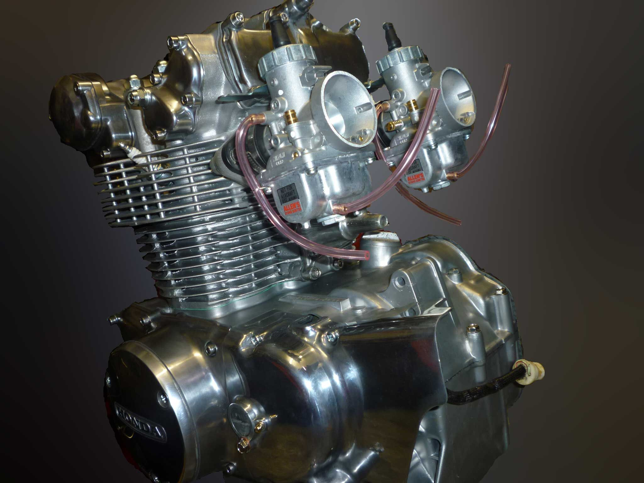 Honda CB450K Race Engine, specifications as to the engine