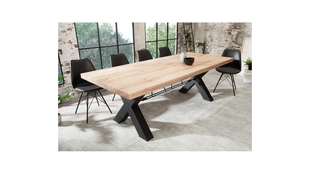 table design industrielle 240 cm favia