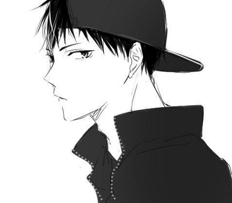 Black And White Kageyama Tobio And Anime Boy Resmi Kageyama Tobio Kageyama Haikyuu Karasuno