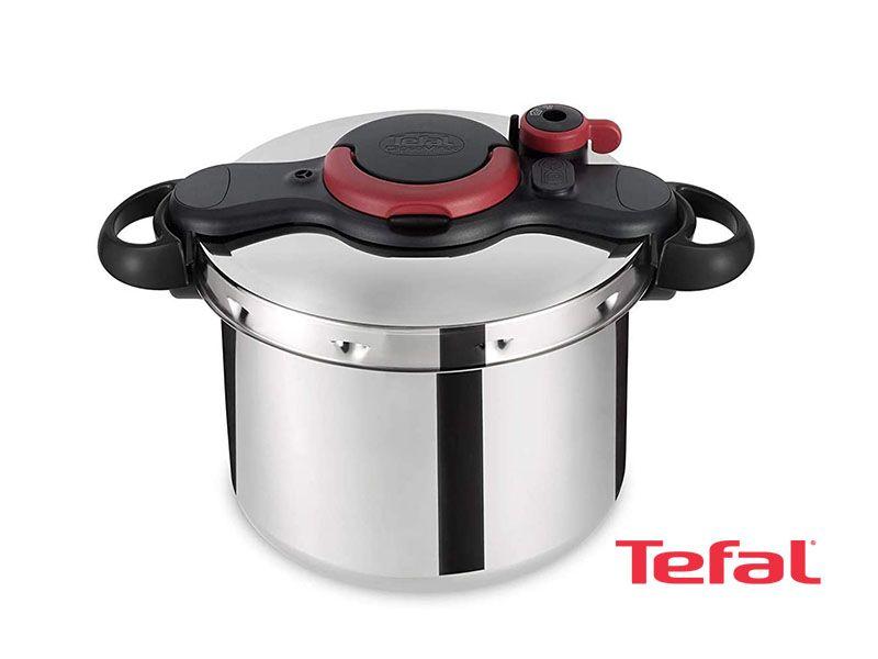Tefal Clipso Minuteasy Pressure Cooker 9 Liter Stainless Steel P4624966 Steel Pressure Cooker Tefal Stainless Steel Pressure Cooker