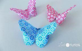 Photo of Comment faire un origami papillon (Tutoriel Facile),  #comment #facile #faire ,