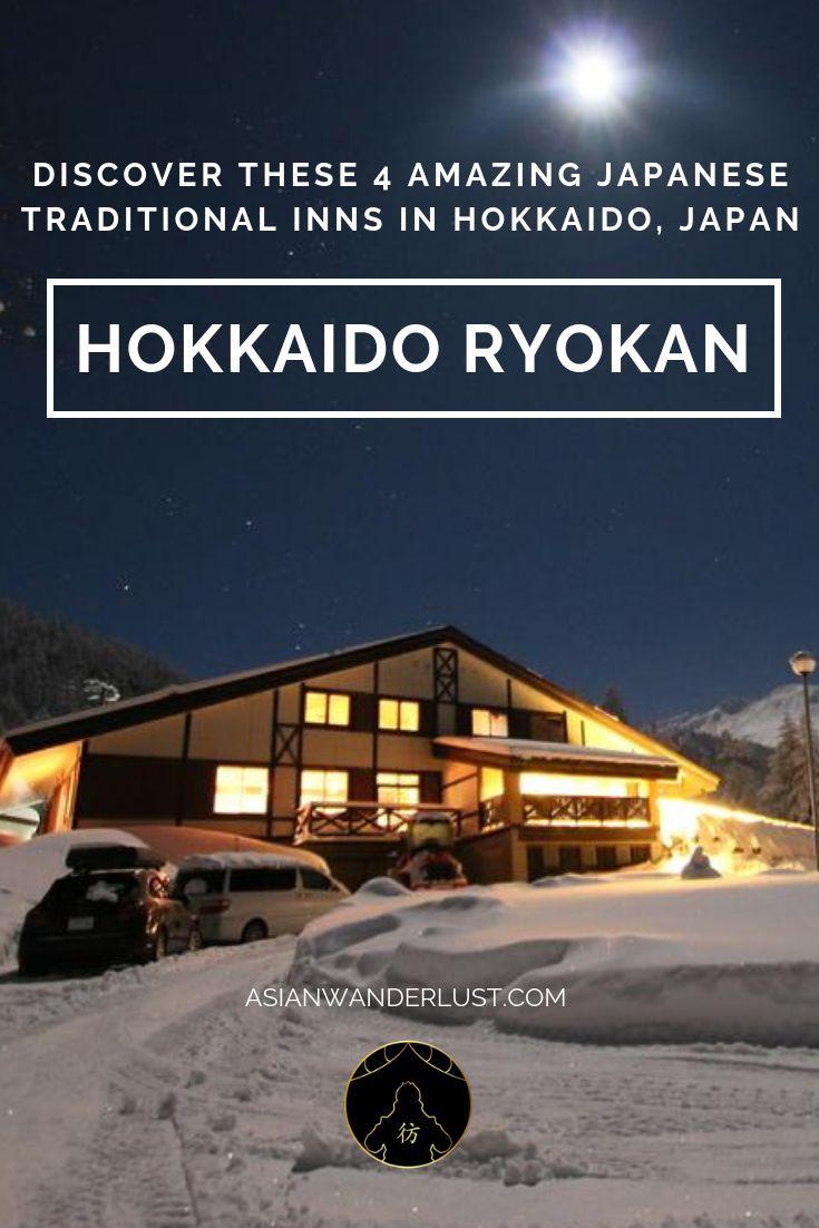Hokkaido Ryokan - Discover These 4 Amazing Japanese Traditional Inns In Hokkaido, Japan  #Hokkaido #Ryokan #Japan #Travel #Blog #Asia #Japanese #Inns #AsianWanderlust
