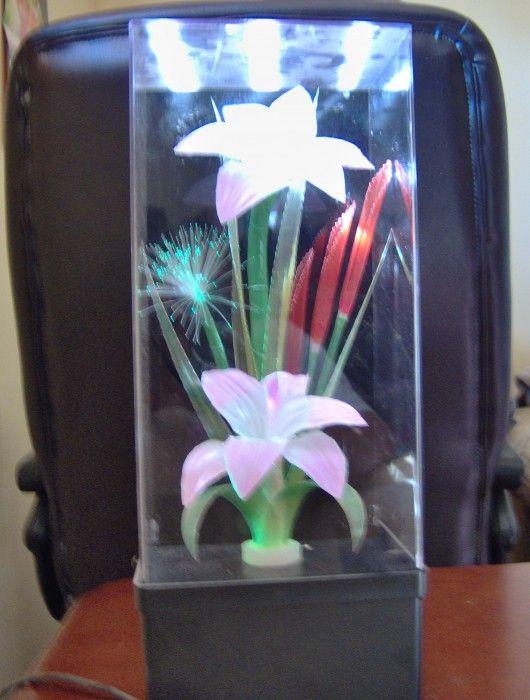 Fiber Optic Flowers Flower Lamp Fiber Optic Flower Boxes