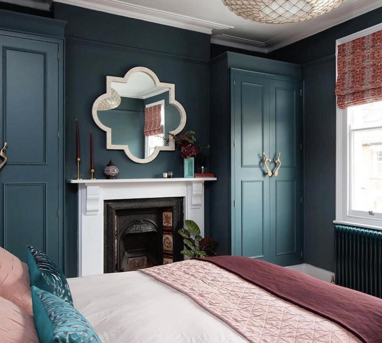 La dernière tendance pour la chambre: le bleu canard et le ...