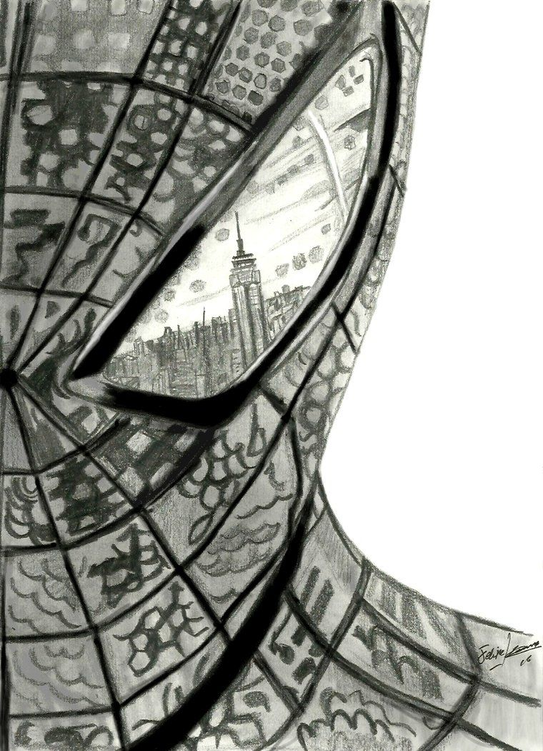 Amazing spiderman drawings the amazing spider man by feliperatinho on deviantart
