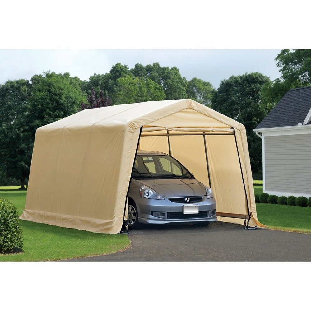 Canopy Carport Tent Garage Portable Outdoor Shelter Auto 10 Ft X 17 Ft Heavy Duty Portable Garage Carport Car Portable Garage Carport Tent Outdoor Shelters