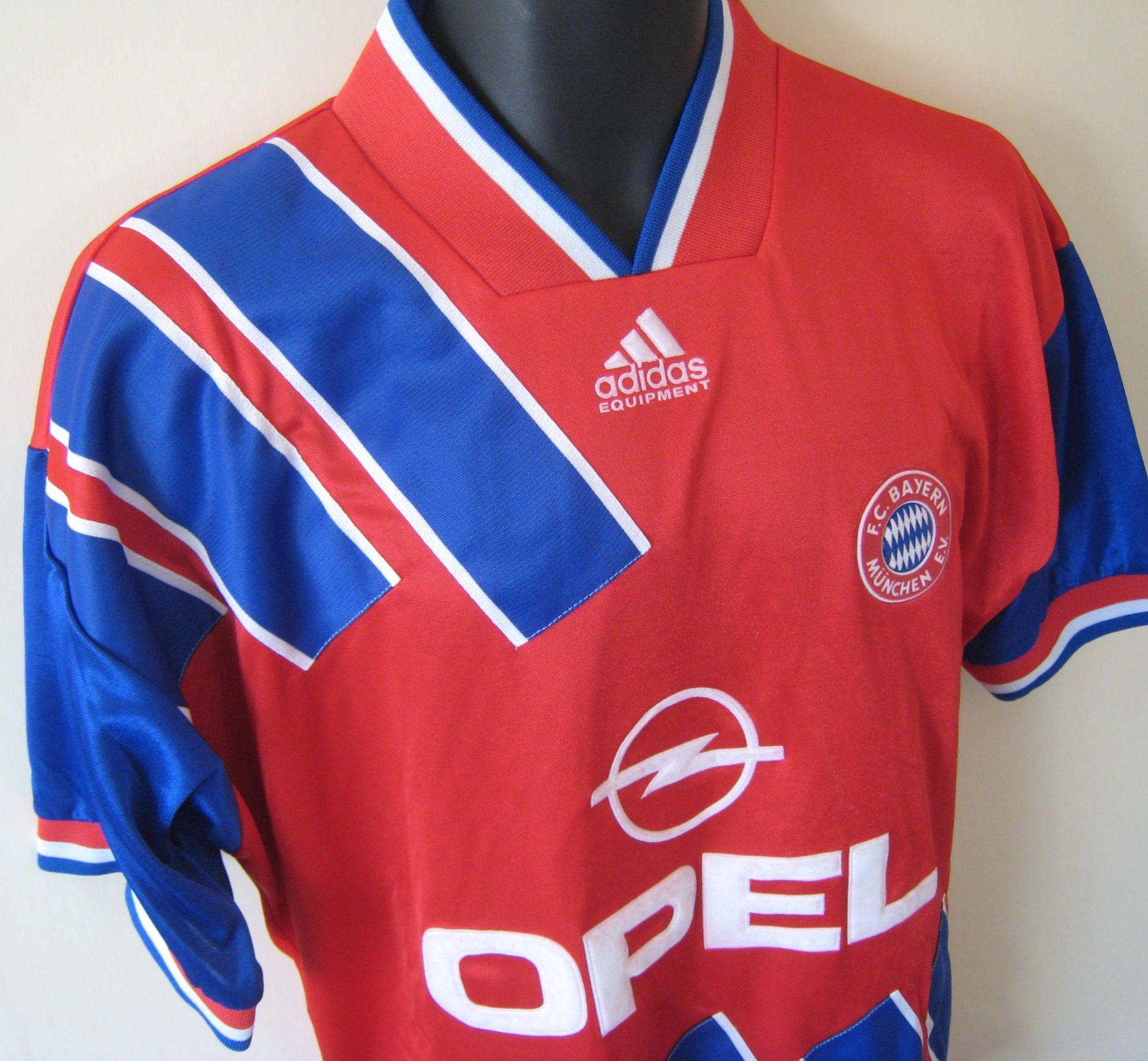 90s Bayern Munich shirt by Adidas.  736d4e62578c6