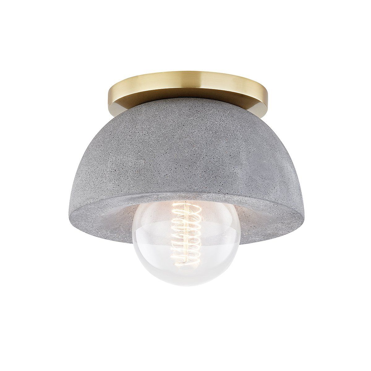 Poppy Flush Mount Wall Sconce Concrete Light Modern Ceiling Light Contemporary Wall Sconces
