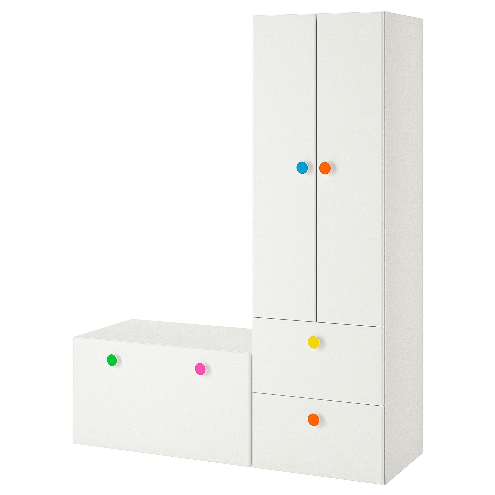 Stuva Folja Storage Combination With Bench White 59x19 5 8x75