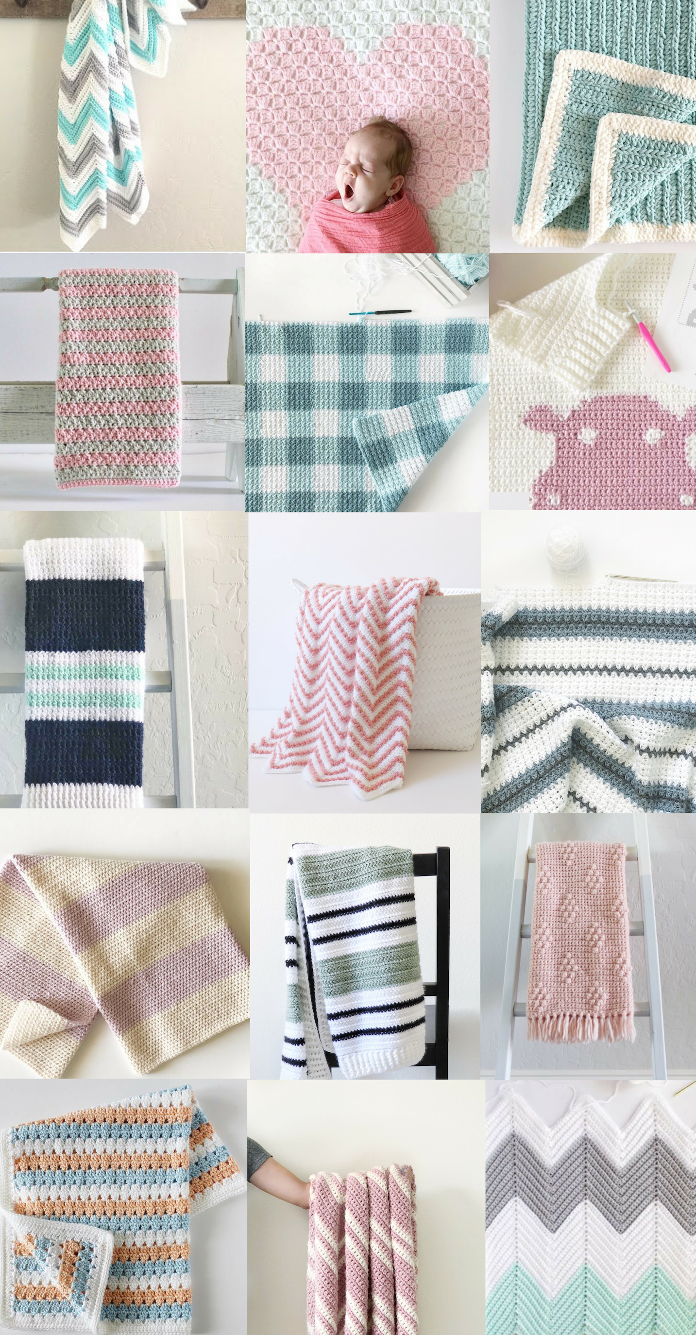 75 Free Crochet Blanket Patterns from Daisy Farm Crafts | Crochet ...