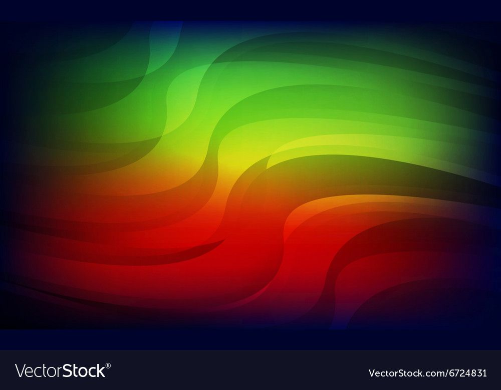 Abstract Light Red Green Blue Background Vector Image Ad Red