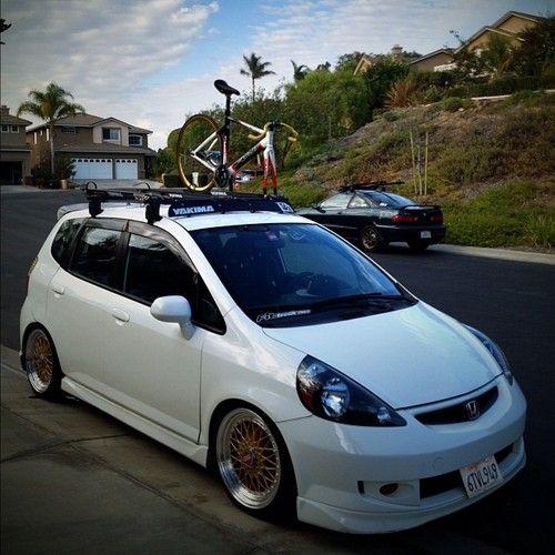 Honda Fit Jdm Carros Tunados