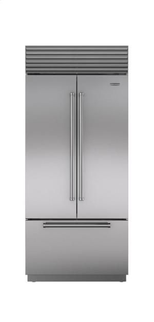 "BI36UFDIDSTH in by Sub-Zero in Norwich, CT - 36"" Built-In French door Refrigerator/Freezer with Internal Dispenser"