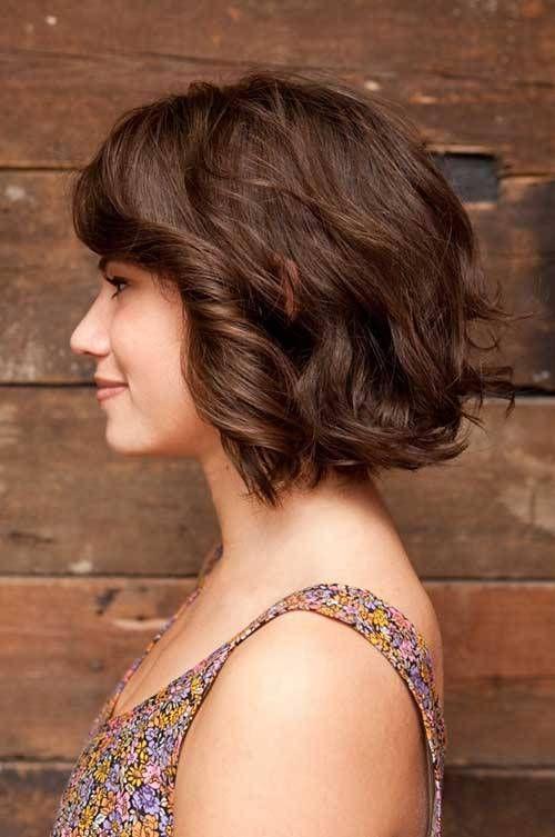 20 tagli di capelli corti per capelli mossi e ondulati ...