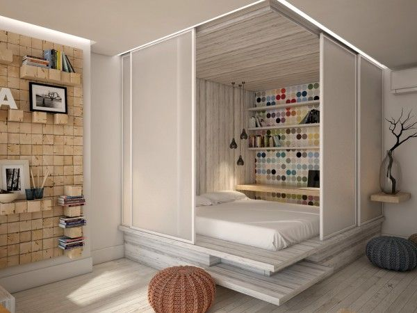 3 Open Studio Apartment Designs | House plans | Studio ...