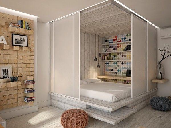 3 Open Studio Apartment Designs Small