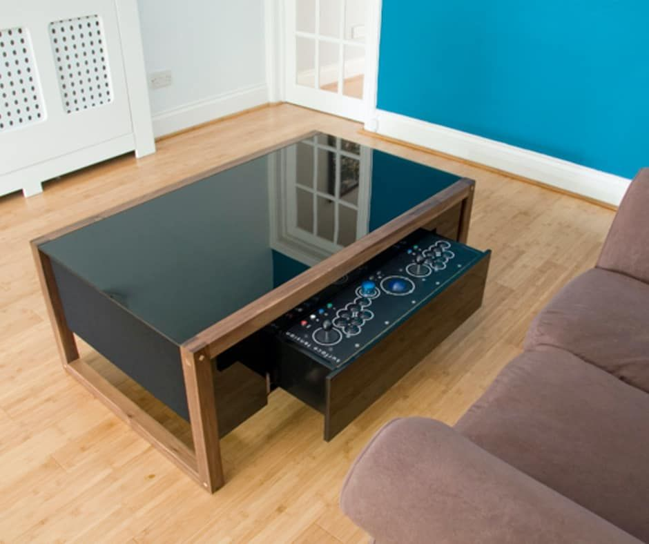 20 Unique Coffee Tables To Catch Everyone S Eyes Arcade Table Coffee Table Unique Coffee Table