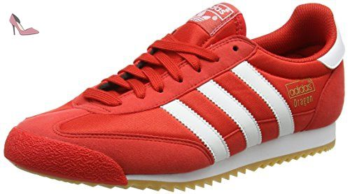 adidas dragon rouge et blanc