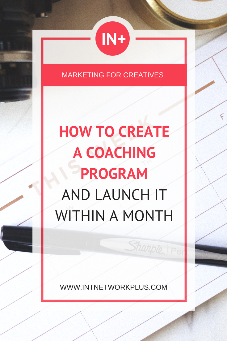 How to Create a Coaching Program and Launch It Within a Month with Ronnie Tsunami #lifecoachingtools