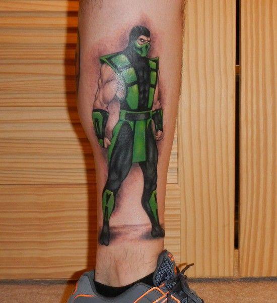 Mortal Kombat Reptile Tattoo