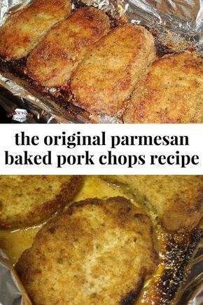 Photo of Parmesan Baked Pork Chops