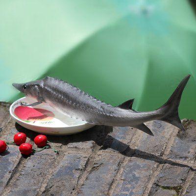 PU Simulation Chinese Sturgeon Fish Model Squishy Toy