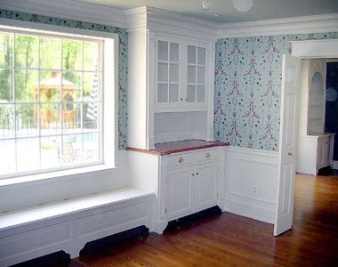 Image Result For Built In Dining Cabinets With Bench Seat  Dining Extraordinary Window Seat In Dining Room Design Decoration