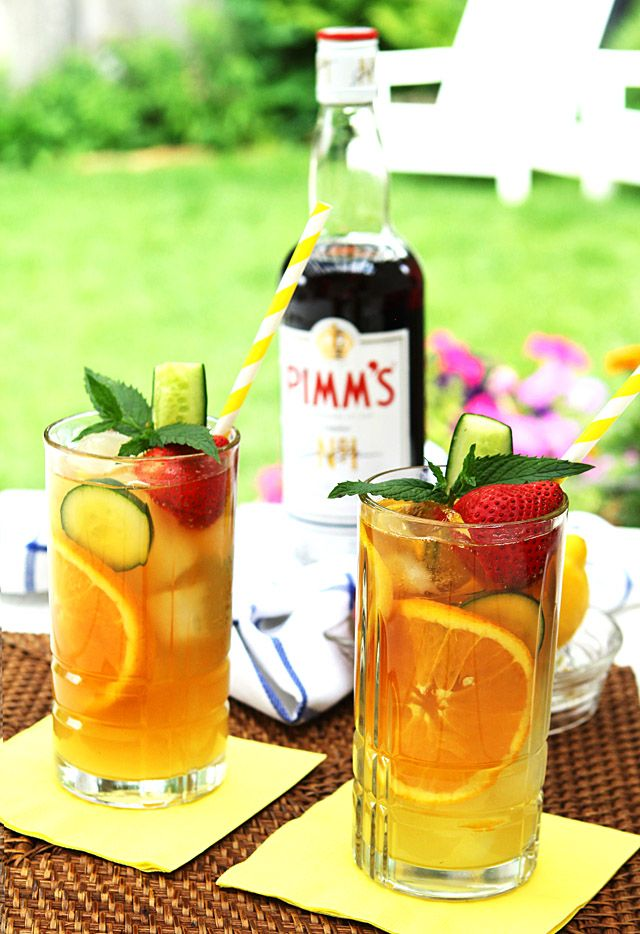 Pimm\'s Cup - Drink Like You\'re at Wimbledon! :: Creative Culinary ...