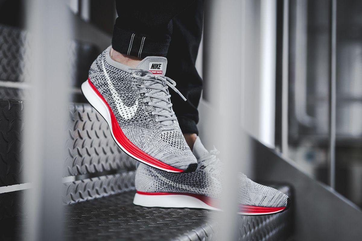 76646aa6360be ... EU Kicks  Sneaker Magazine. Spoils of war. On-Foot  Nike Flyknit Racer