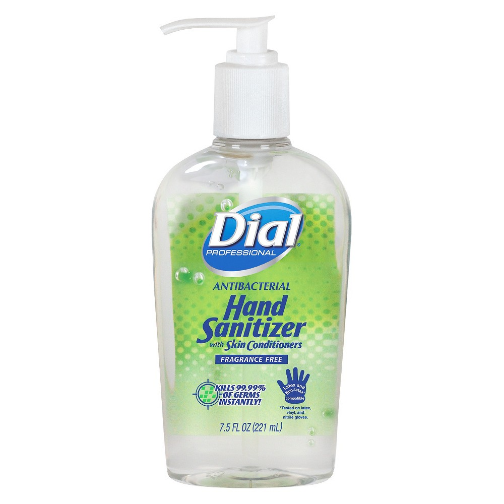 Dial Unscented Hand Sanitizer With Images Fragrance Free Hand