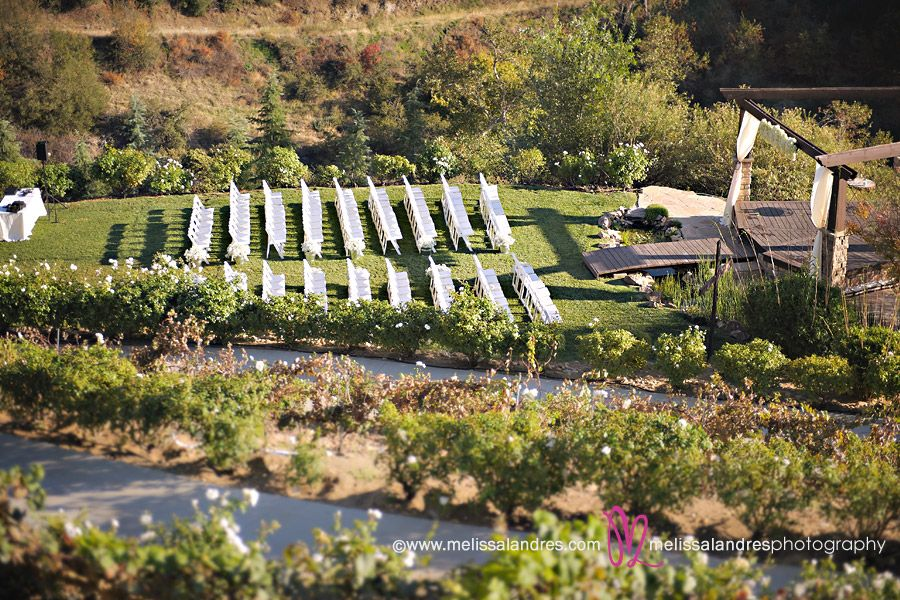 Serendipity Garden Weddings Wedding Ceremony At The Gardens In Oak Glen Ca