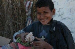 Menino beduíno e a rosa de sal