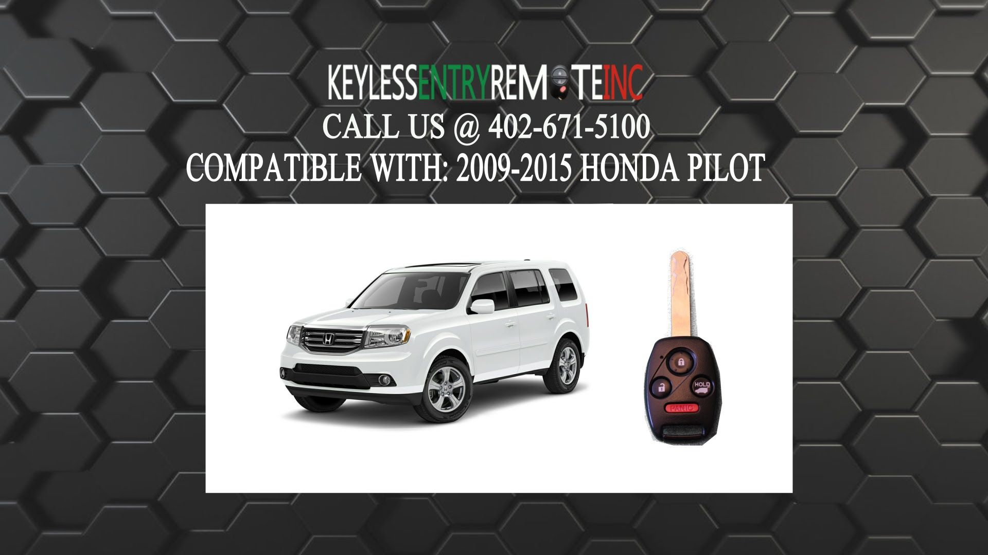 How To Replace Honda Pilot Key Fob Battery 2009 2010 2011 2012