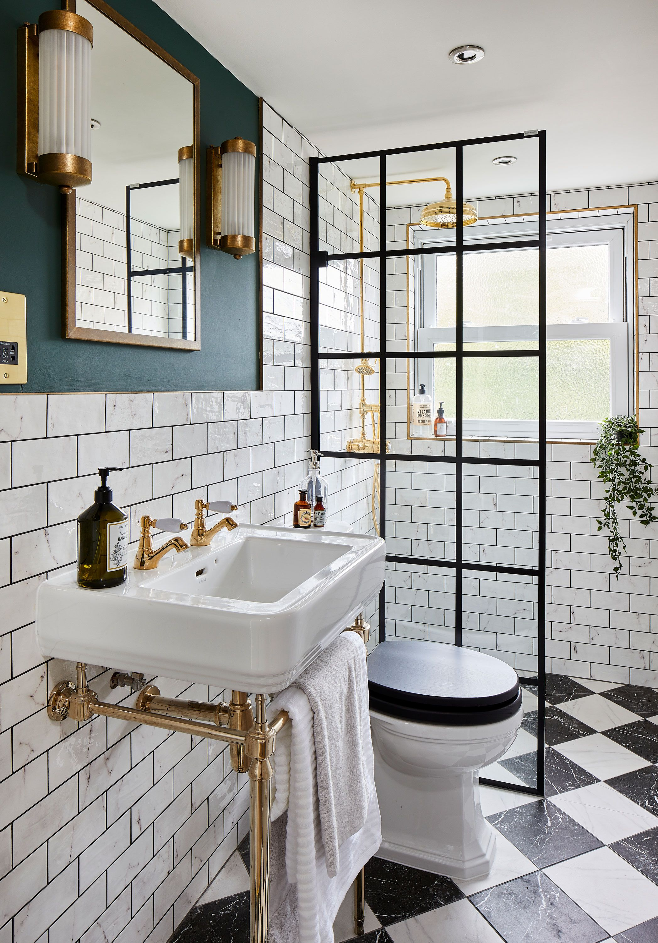 Real home: en suite shower room is packed with style | Real Homes