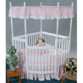 Crib In Corner Draped Fabric Baby Girl Bedroom Baby Girl Room