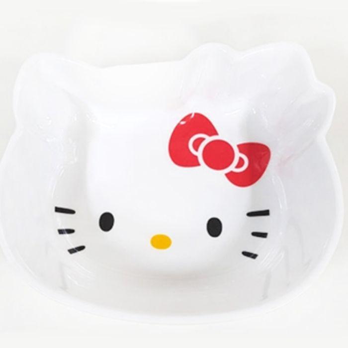 Sanrio Hello Kitty Face Multi Bowl Cereal Salad Soap Dinner Bowl Plate 510ml  #Sanrio