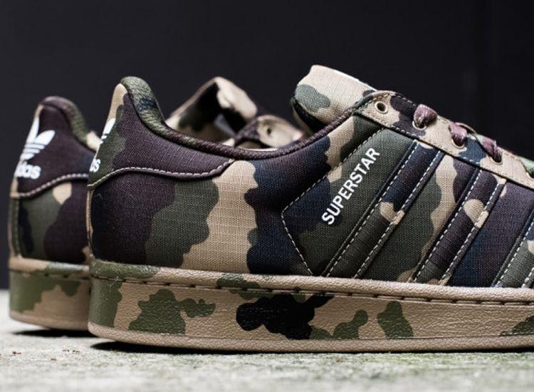 adidas Superstar (Woodland Camo) - Sneaker Freaker | Adidas ...