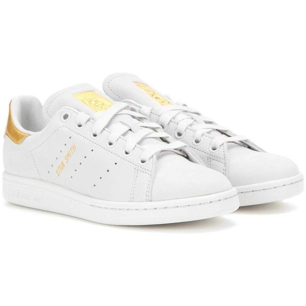 18444755a50 Adidas Originals Stan Smith 999 Leather Sneakers ( 170) ❤ liked on Polyvore  featuring shoes