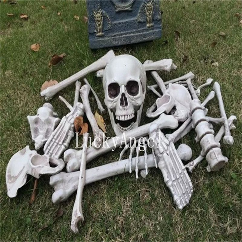 Halloween mask Haunted House Props Skull skeleton Human Body Party - halloween club decorations