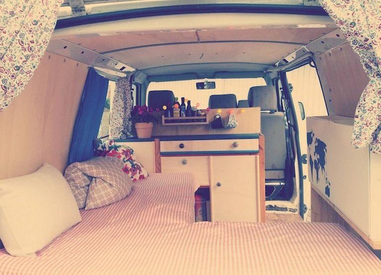 Camper Van Conversion Diy 236 Vw Bus Interior Camper Van