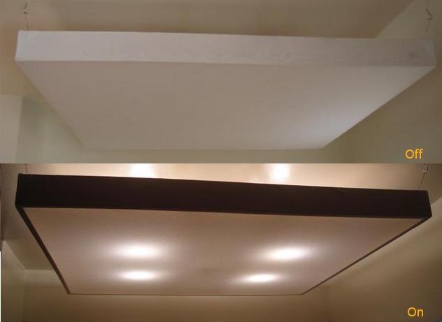 Diy Bedsheet Ceiling Light Diffuser Diy Kitchen Lighting