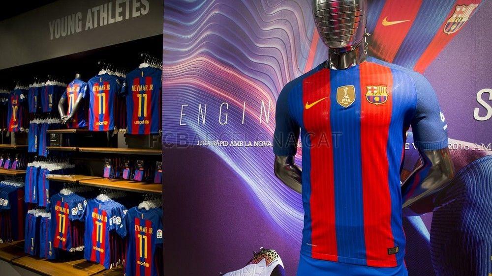 new home kit for season fcbarcelona fcb shop store