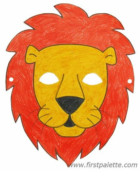 Lion mask and other free printable animal masks Printable Animal - face masks templates