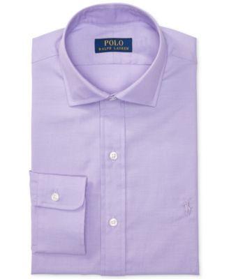 POLO RALPH LAUREN Polo Ralph Lauren Men S Estate Slim-Fit Solid Purple  Dress Shirt.  poloralphlauren  cloth   dress shirts 163a93edb6c