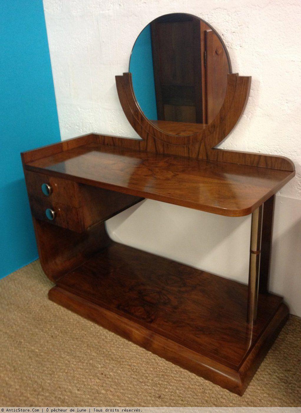 coiffeuse art d co deco pinterest art deco art deco furniture and deco furniture. Black Bedroom Furniture Sets. Home Design Ideas
