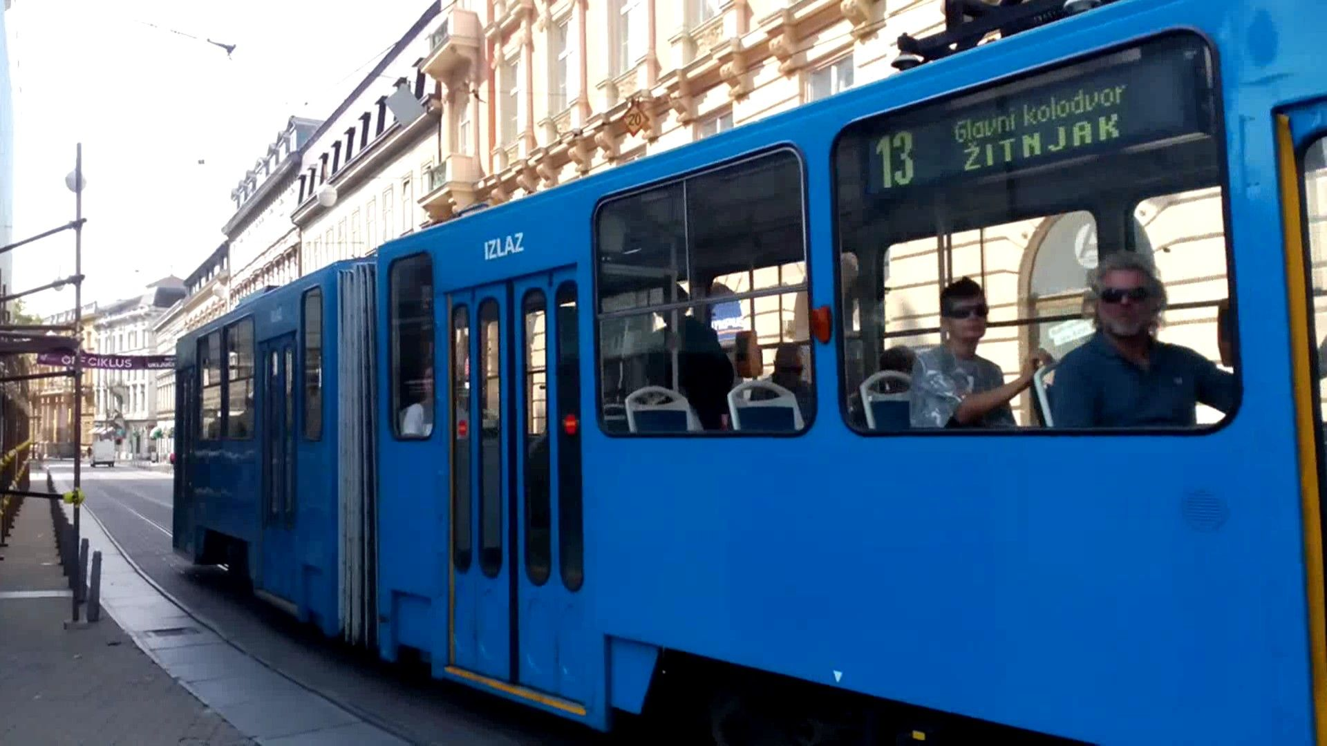 Zet Zagreb Tram Ckd Kt4yu Zagreb Train Vehicles