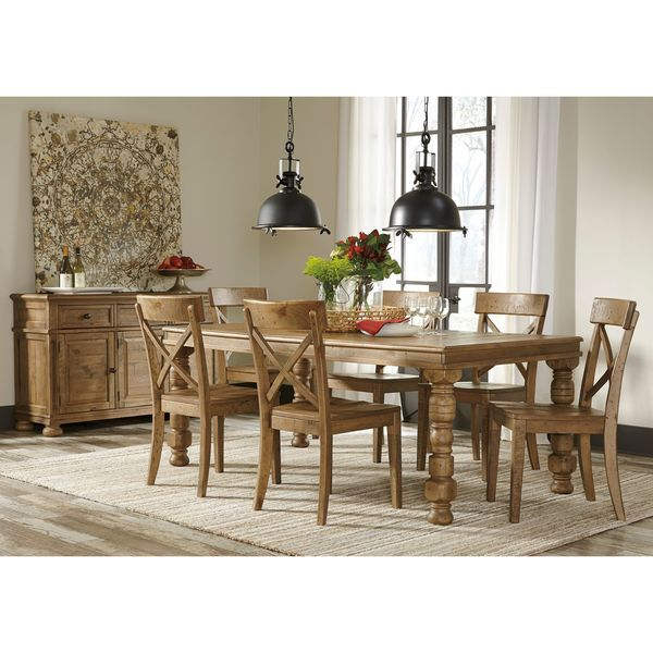 Signature Designashley Trishley Brown Dining Room Table Prepossessing Ashley Dining Room Table Set Review