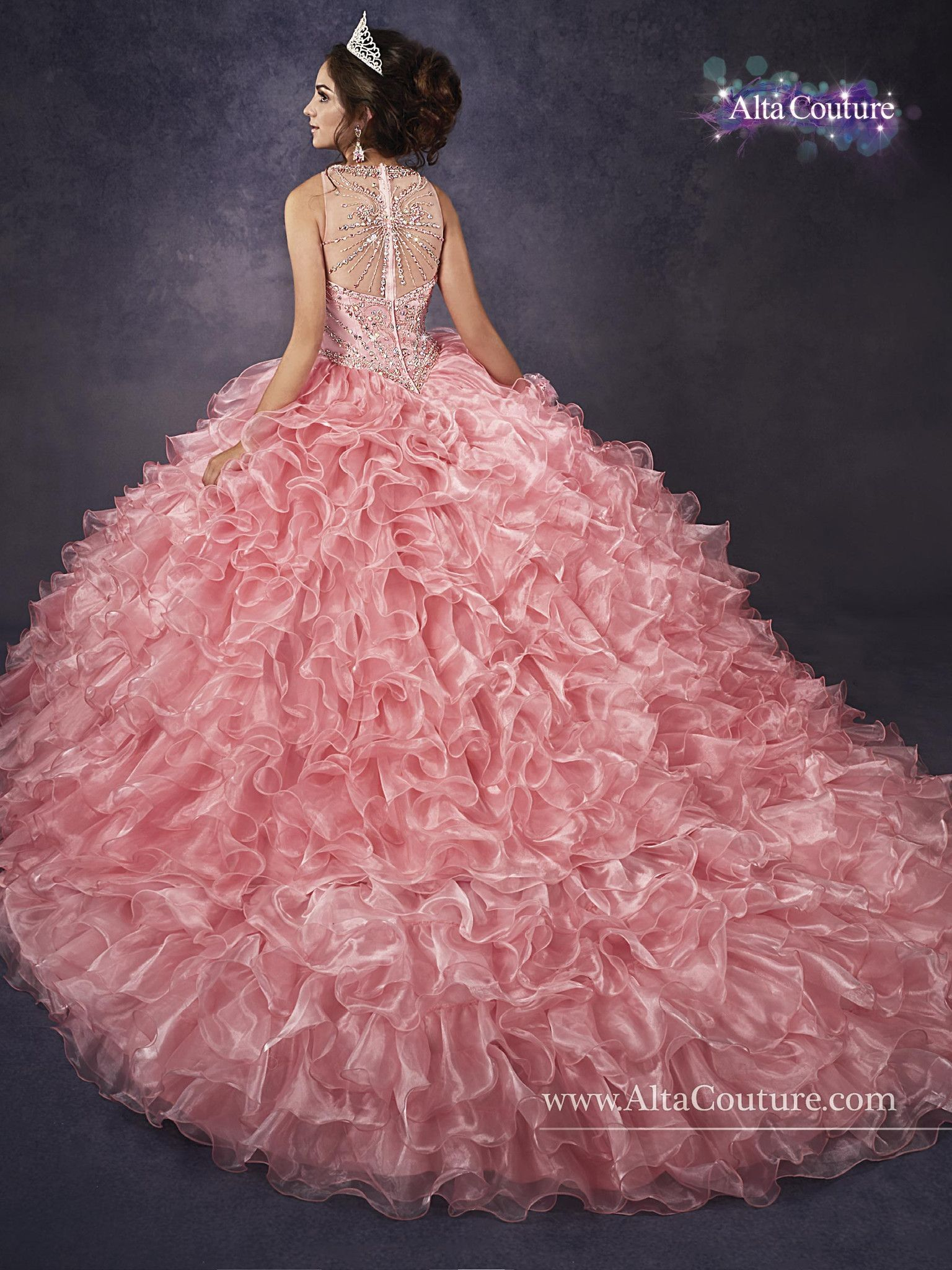 12adde486d86d Mary s Bridal Alta Couture Quinceanera Dress Style 4T185 in 2019 ...